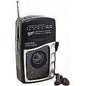 Lloytron Entertainer AM/FM Personal Radio with Earphones