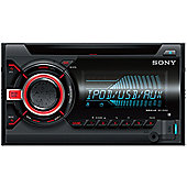 Sony WX 800UI│Double Din│CD│Radio│AUX│USB│Multicolor Illumination│Apple Android