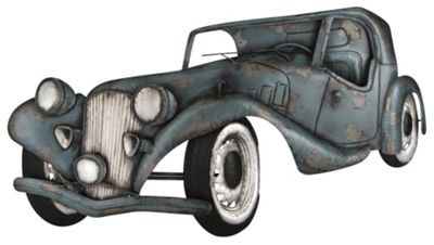 Pacific Lifestyle Vintage Car Design Metal Art