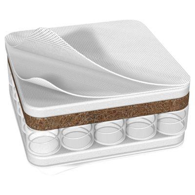 Kit for Kids Ventiflow Dual Core Cot Bed Mattress 140 X 70cm