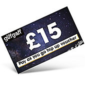 giffgaff £15 mobile Top Up