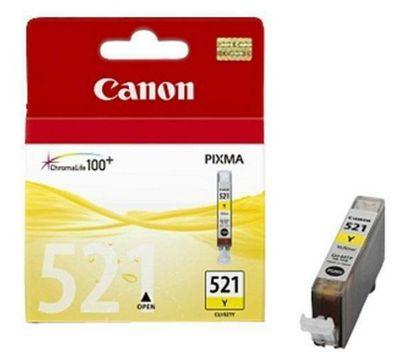 Canon CLI-521Y printer ink cartridge - Yellow ( 2936B001AA)
