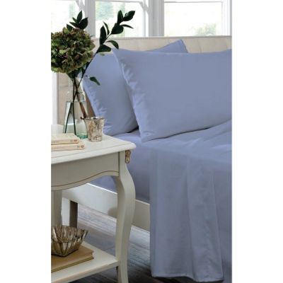 Catherine Lansfield Home Housewife Pillowcases - Cornflower Blue