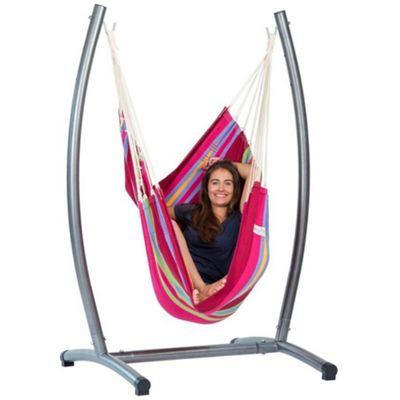 Amazonas Omega Hanging Chair & Stand Set - Grenadine