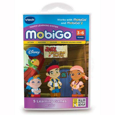 VTech Mobigo Disney Jake and the Neverland Pirates Software