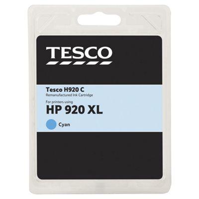 Tesco-HP 920XL Cyan Officejet Printer Ink Cartridge - Cyan