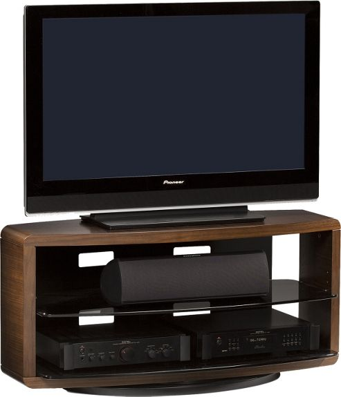 BDI Chocolate Stained Walnut TV Unit For Up To 50 inch TVs