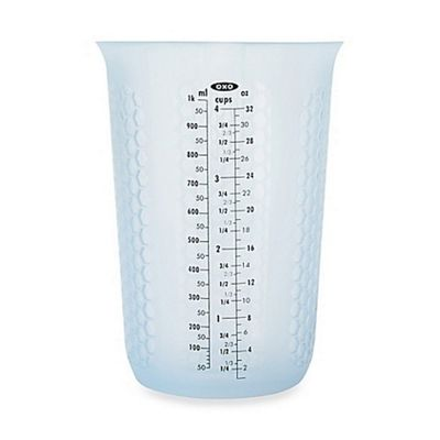 OXO Good Grips Squeeze and Pour Silicone Measuring Cup 1000ml 11172200