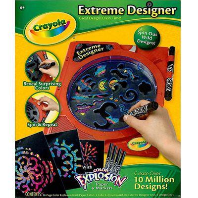 Crayola Colour Explosion Designer