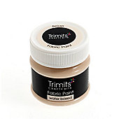 Trimits Fabric Paint Beige 50ml