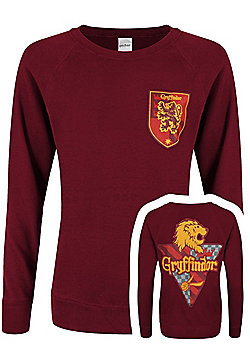 Harry Potter Gryffindor House Women's Burgundy Sweater - Red