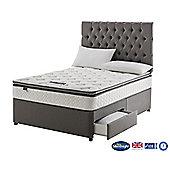 Silentnight Wensley Divan Bed, Miracoil Luxury Pillowtop