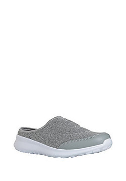 F&F Active Slip-On Mule Trainers - Grey