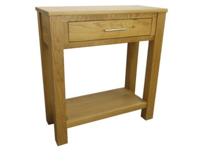 Oakland - Oak Console Table / 1 Drawer Hall Table