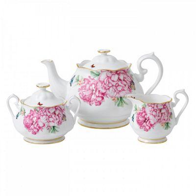 Royal Albert Miranda Kerr Friendship 3 Piece Tea Set