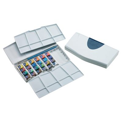 Winsor & Newton Cotman Painting Plus 24 Half Pan Set