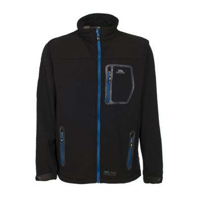 Trespass Mens Amherst Softshell Jacket Black S