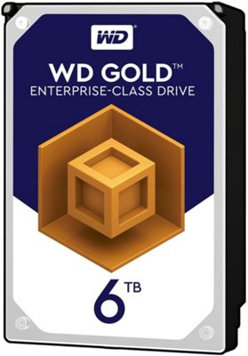WD 6TB Gold 128MB 3.5IN SATA 6GB/S 7200RPM Hard Drive