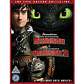 How To Train Your Dragon 1+2 Blu-ray