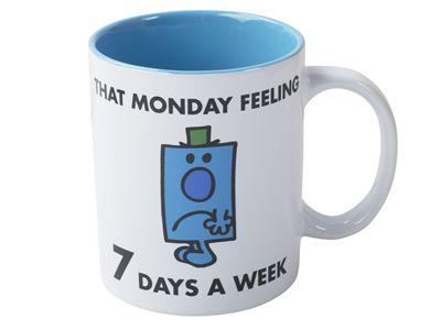 Creative Tops Mr Men Mr Grumpy Slogan Can Mug Cup