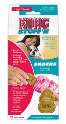Kong Stuff N Snacks Puppy Mini (Chicken & Rice)
