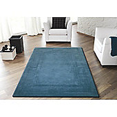Sierra Apollo Teal 150x210 Wool Rug