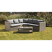 Wentworth 4pc Corner Lounging Garden Set