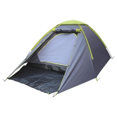 Tesco 3-Man Grey u0026 Green Dome Tent  sc 1 st  Tesco : tescos tents - memphite.com