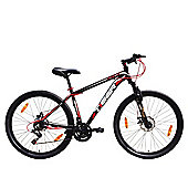 Tiger ACE 27.5 Front Suspension Mountain Bike Black Red