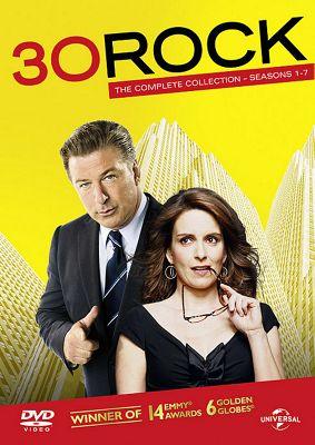 30 Rock: Series 1-7 Set DVD