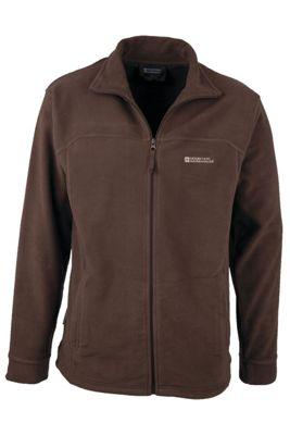 Elm Mens Fleece Jacket Coat Top Full Zip Warm Winter Walking Hiking Sweater