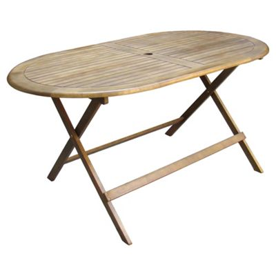 We no longer sell this product. Buy Windsor 150cm Oval Wooden Garden Table from our All Garden