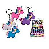 Poo Poo Unicorn Keychain (One Supplied At Random)