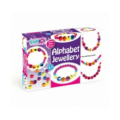 Make Your Own Alphabet Jewellery