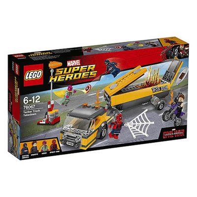 LEGO Marvel Super Hero Tanker Truck Takedown - 76067