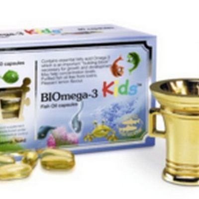 BiOmega 3 Kids Fish Oil 1000mg, 80