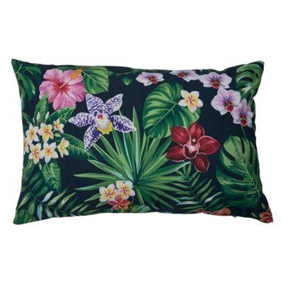 Bahne Cushion Rectangular Rainforest Print 60 x 40 cm