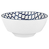 Mosaic Large Blue Bowl