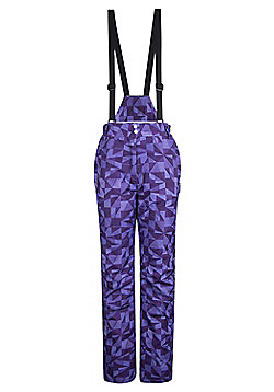 Dawn Womens Ski Pants - Purple