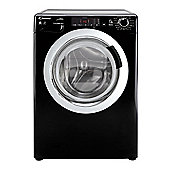 Candy Washer Dryer, GVSW496DCAB, 9kg / 6kg load with 1400 rpm - Black