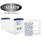 Obaby Grace Inspire 2 Piece Room Set and Changing Mat - Little Sailor