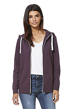 F&F Active Zip-Through Hoodie - Purple