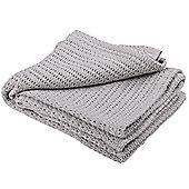 Abeille Cellular Baby Blanket (Grey)