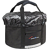 Rixen & Kaul Folding Shopper Comfort Bag: Black.