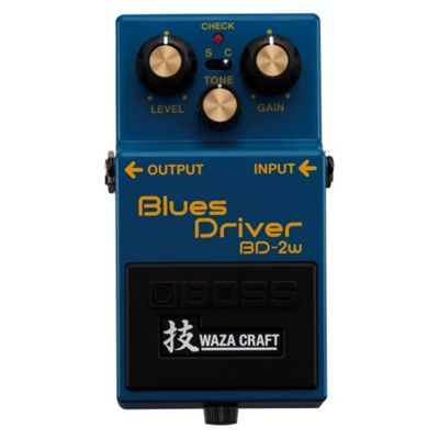 Boss BD-2W Blues Driver Waza Craft Compact Effects Pedal