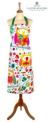Ulster Weavers Twit Twoo Owl Design Cotton Apron 7TWT01