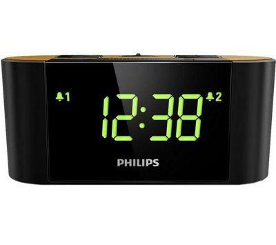 Philips AJ3570/12 Radio Alarm Clock - Black