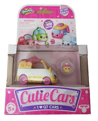 Shopkins Cutie Cars Series 1 - Wheely Wishes (Single Pack)