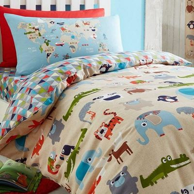 Catherine Lansfield Animal Kingdom Double Duvet Set