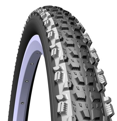 Rubena Kratos Top Design MTB & Cross Country Elite Level Tyre, 26 x 2,25 (57-559), black/grey lines